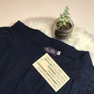 Liz Alig Dresses - LAST ONE ☝️ Recycled ♻️ Cowl Neck Reed Dress